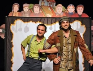 תיאטרון אורנה פורת לילדים ולנוער - מרק כפתורים כרטיסים